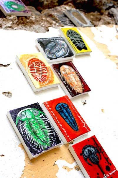 Samantha Fermo trilobites art 2