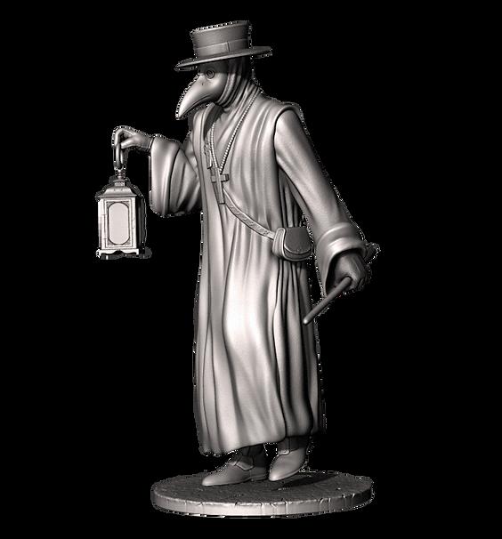 medico della peste resin kit