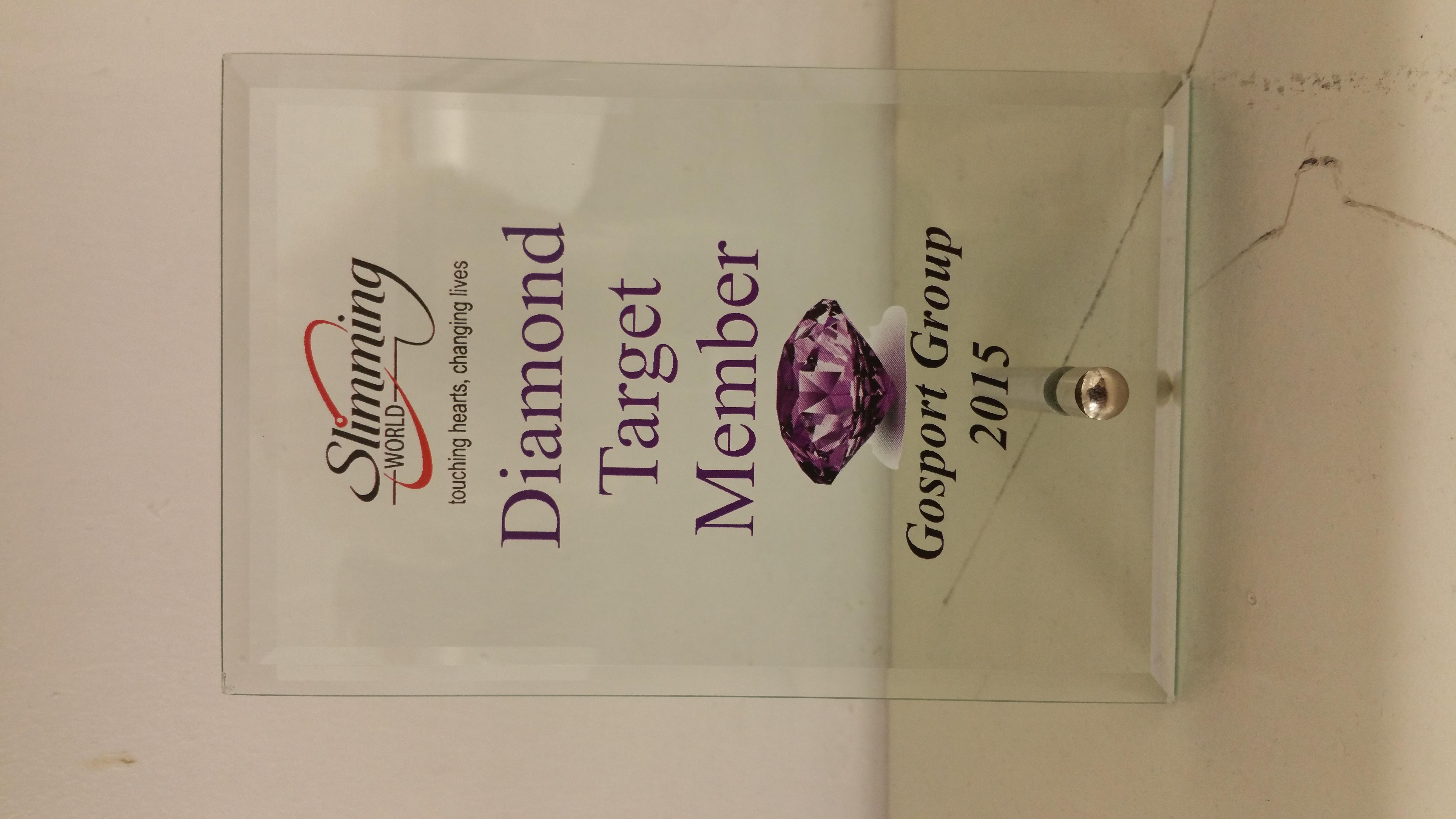 Glass Diamond Target Award