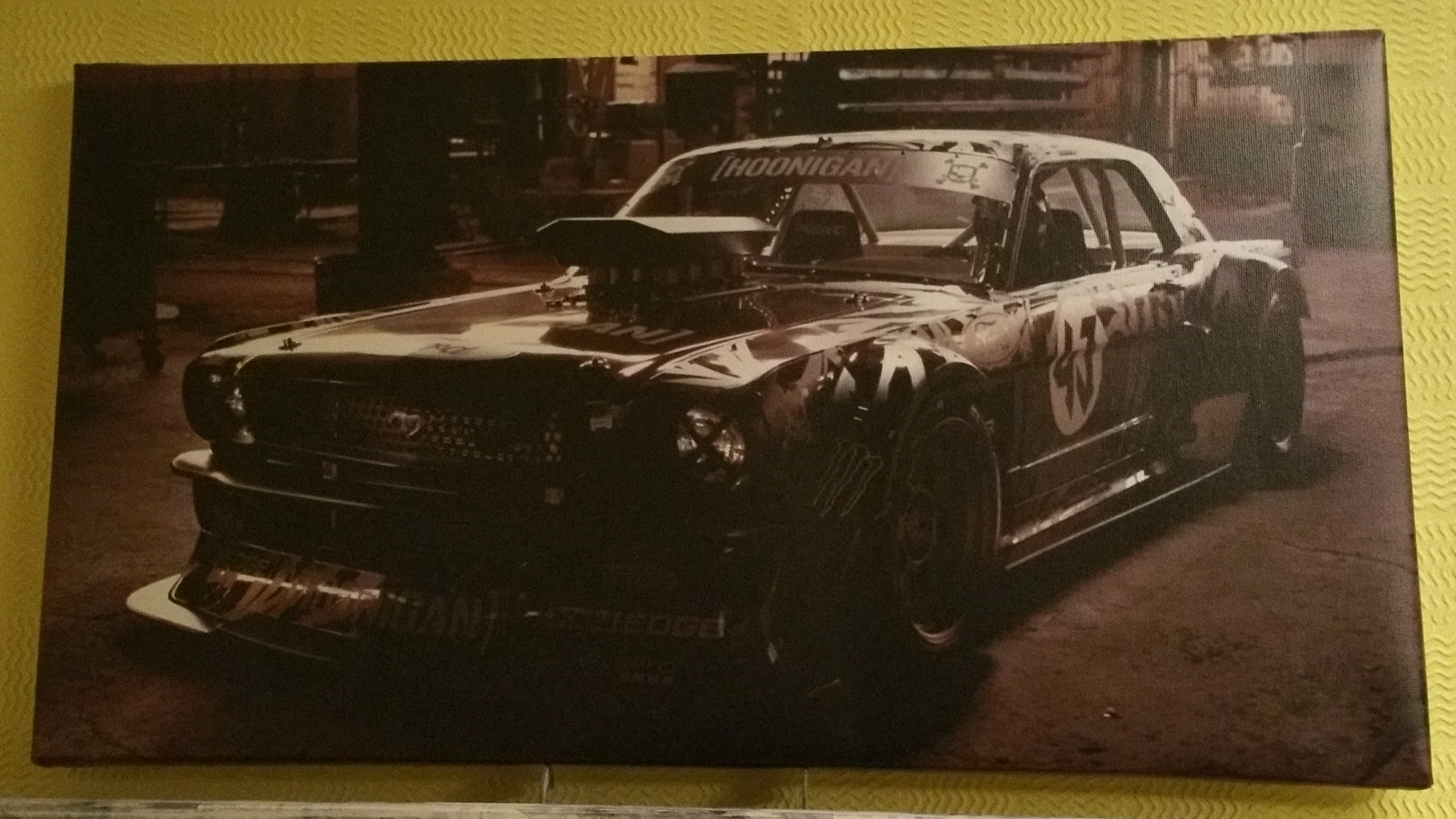 Mustang - Canvas 1