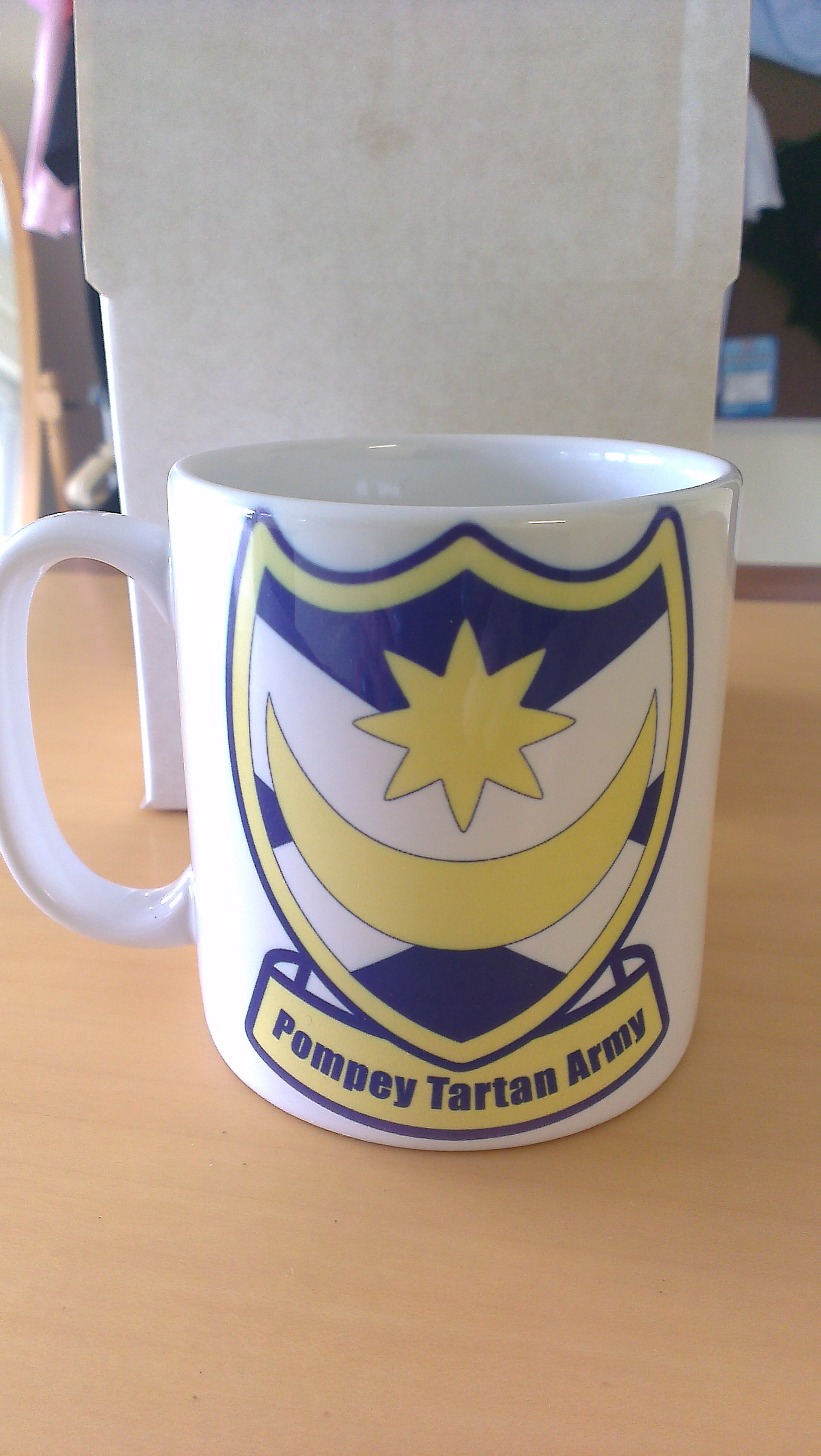 Pompey Tartan Army - Mug