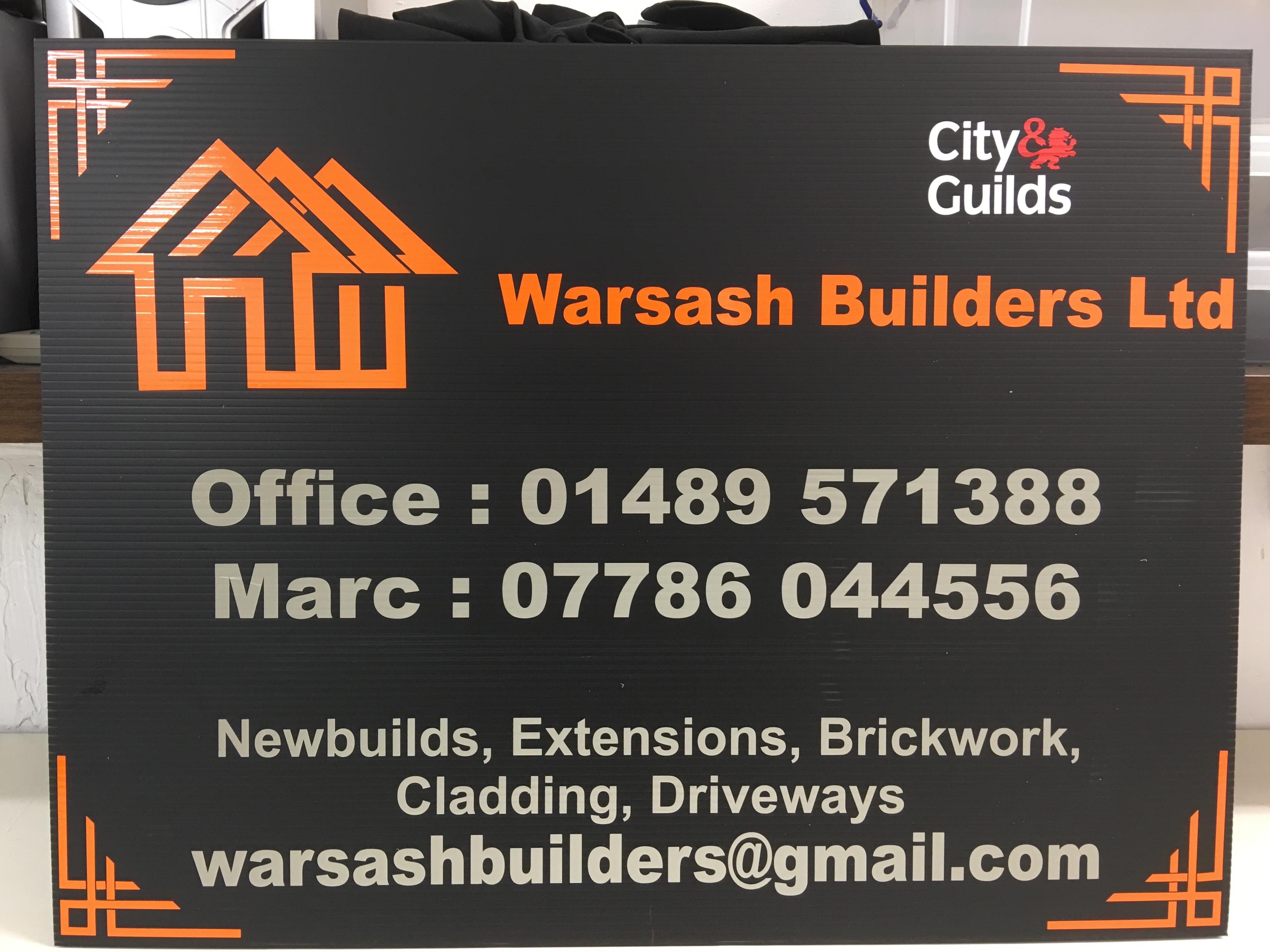 Warsash Builders - Board