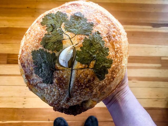 Roasted Garlic Boule