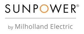 Sunpower Logo | Milholland Electric | San Diego | Solar | Sunpower | Free Quote