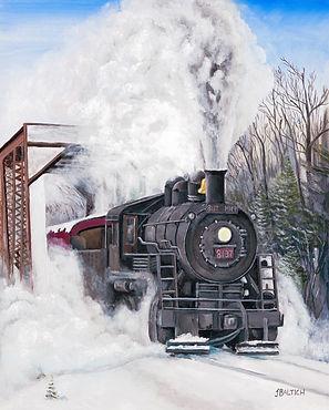 Train - DM&IR near Ely MN