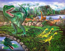 Dinosaur pictures, tyrannosaurus rex