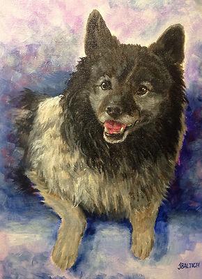 Dog Portrait - Wookie