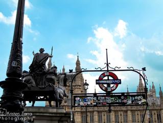 London, Paris and Barcelona: Part 1-London