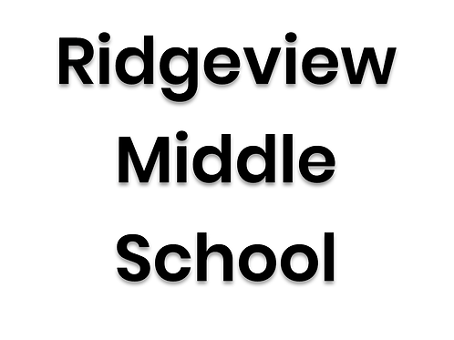 Ridgeview Middle School - March