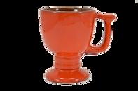 Vintage Frankoma C13 Flame orange 70's m