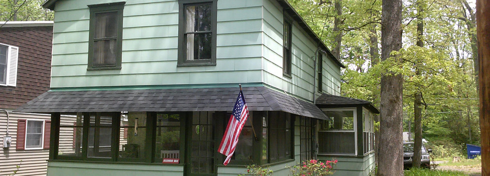 Outside Respite Cottage