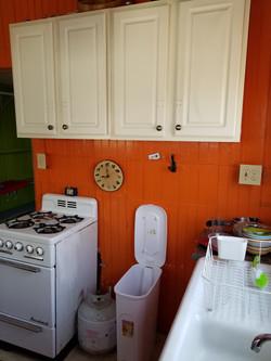 Kitchen of stovetop