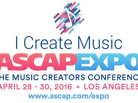 "#GuideTo: ASCAP ""I Create Music"" EXPO"