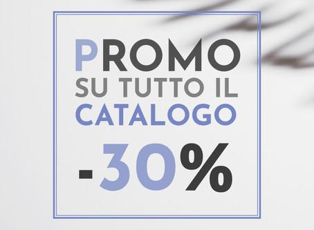 SALDI ESTIVI -30%