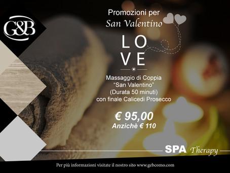 Promo Febbraio San Valentino - Massaggio