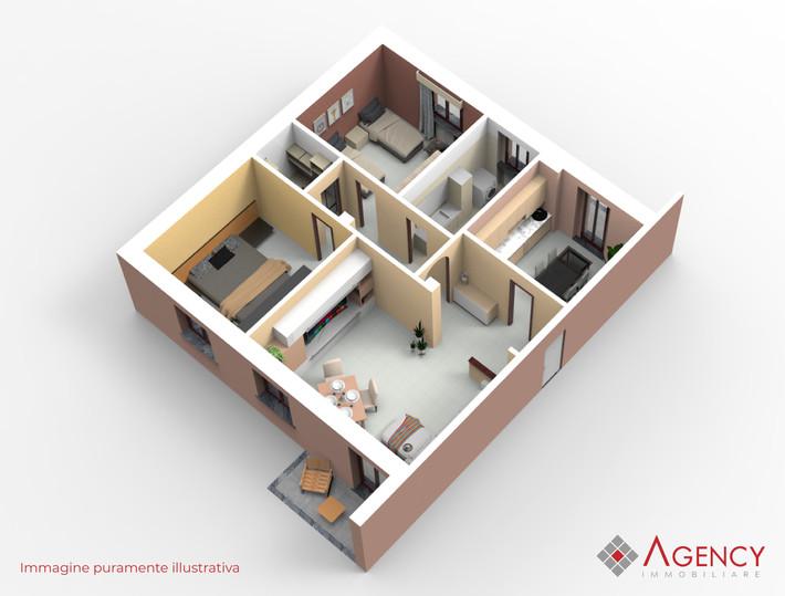 Appartamento Oltrona San Mamette