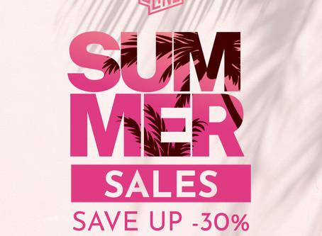 SUMMER SALES -30%