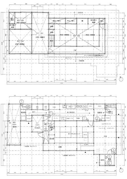 Planning (Upper=2F, Lower=1F)