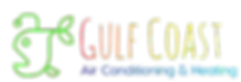 Gulf Coast AC and heating colorful angler fish logo