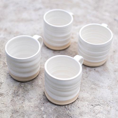 Loaf Mugs - Snow Gift Set X 4