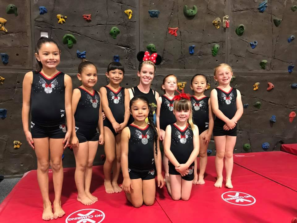 Pre-Team Level 1's with Coach Allie
