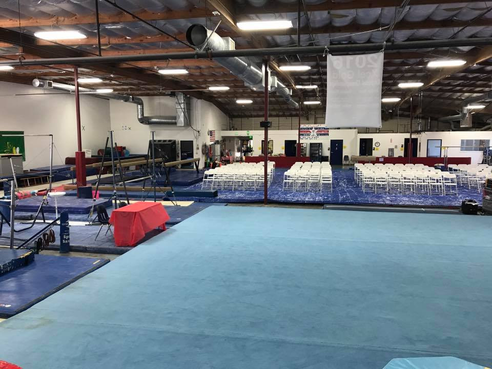 The Gym is Set Up & Ready to Go!