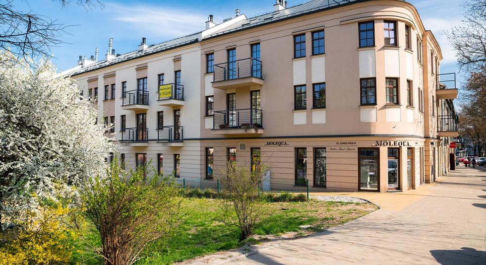 Apartamenty GKM Lublin - wejście