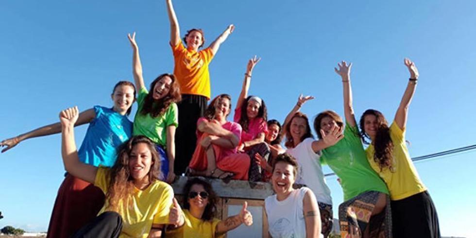 Dall'oscurità alla luce ritiro femminile a Fuerteventura.