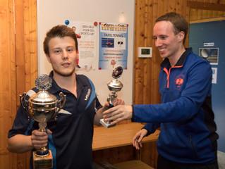 Ruben van Straten en Nick Efdee opnieuw Clubkampioenen 2018