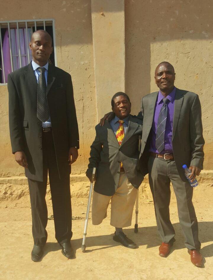 "Our ""sent ones"" to Lubumbashi, DNR - Apostle Kelvin Chewe, Pastor Gift, Apostle Jim Phiri"