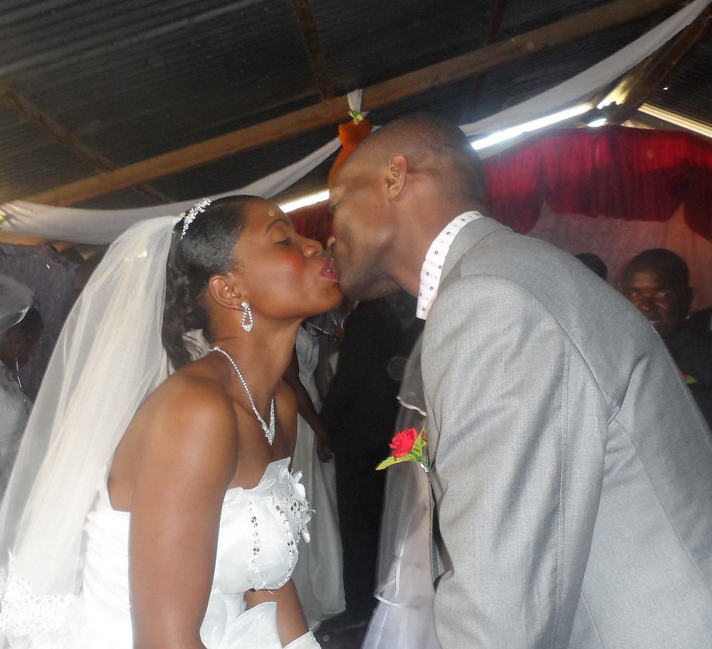 Kelvin and his wife Precious renewed their wedding vows along with 15 other couples at FIC Kabanana while we were there last year.
