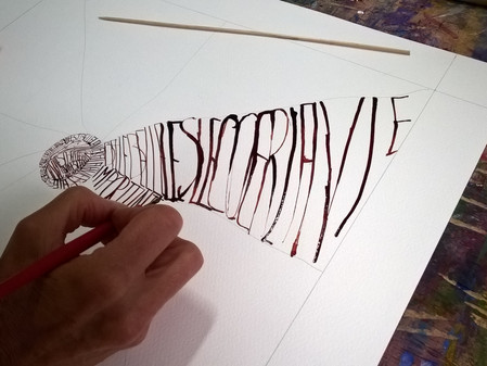 """Calligraphie créative"""