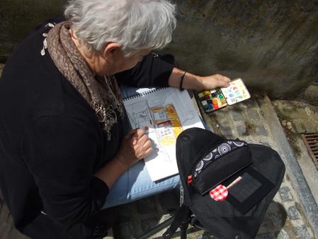 Carnet de voyage à St Valéry-sur-Somme