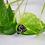 Thumbnail: Snowflake Obsidian Necklace