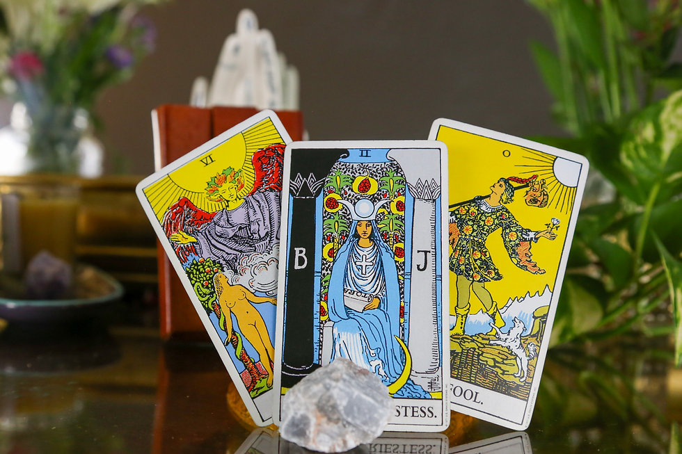 This is a picture of tarot cards. You can book a tarot reading. Love tarot reading, career tarot readings.