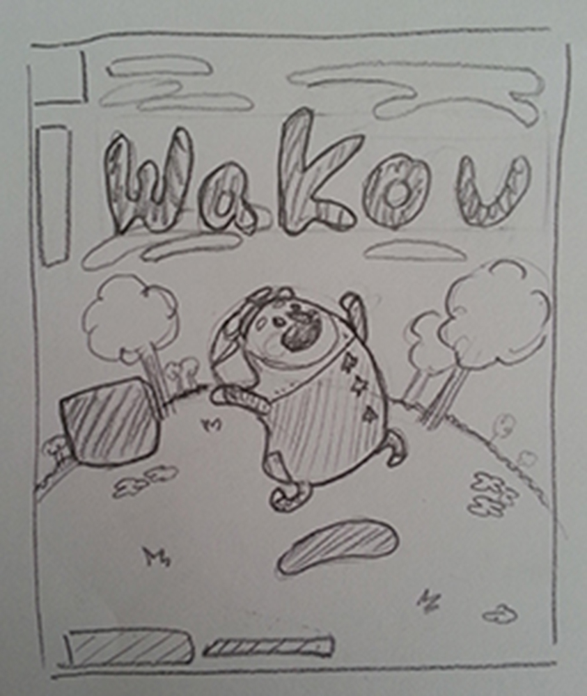 couverture du magazine Wakou