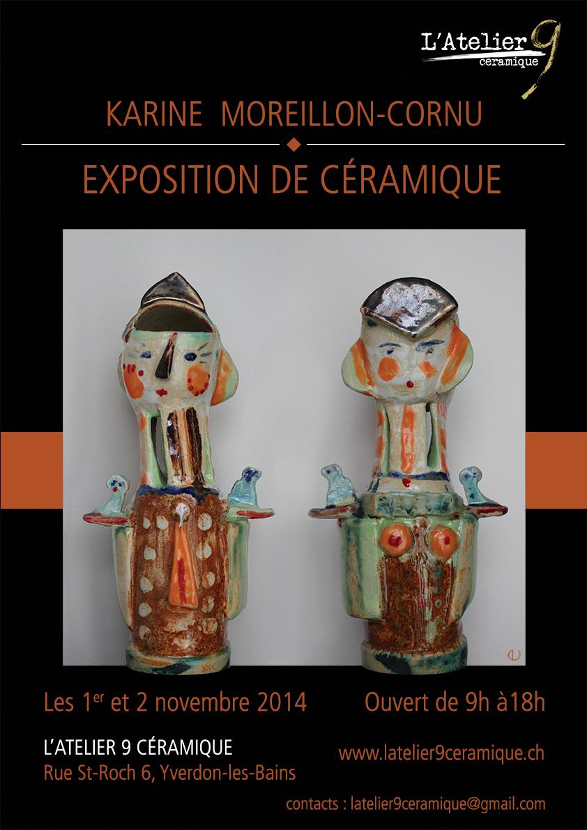 Exposition de Karine Moreillon-Cornu