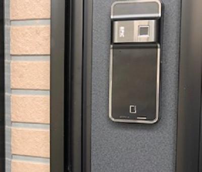 【旭川 徘徊防止】エピック・F700G電池式電気錠を設置