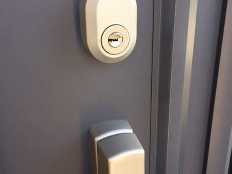 【帯広 鍵交換】ロイヤルガーディアン 玄関ドア防犯キー交換