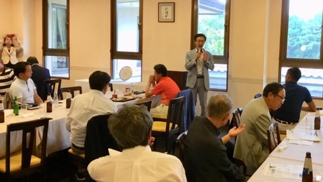 六甲国際ゴルフ倶楽部で健康講座