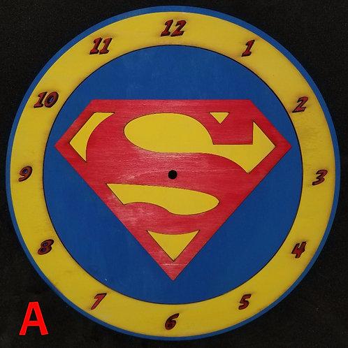 "12"" Superman Clock"