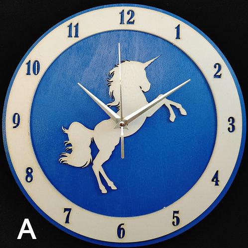 """12"""" Unicorn Clock"""
