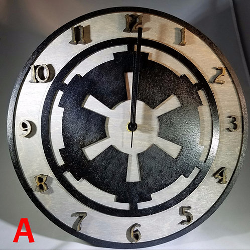 """12""""  Imperial Clock"""