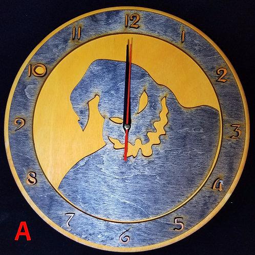 """12"""" Oogie Boogie Clock"""