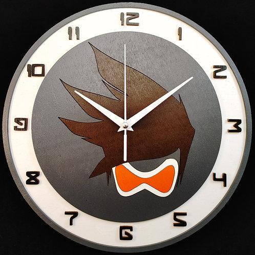 "12"" Tracer Clock"