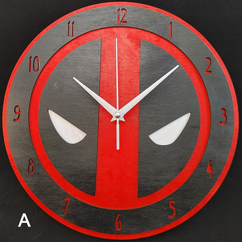 "12"" Deadpool Clock"