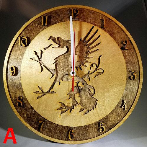 "12"" Griffin Clock"