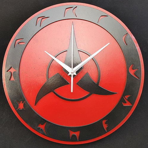 "12""  Klingon Clock"