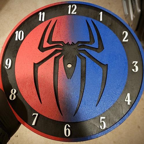 "12"" Spiderverse Clock"