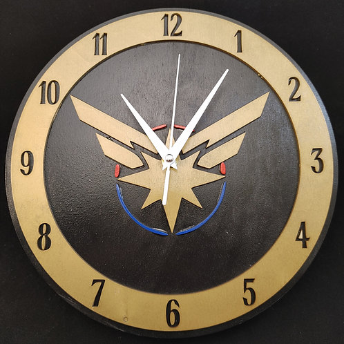 "12"" Captain Marvel Clock"